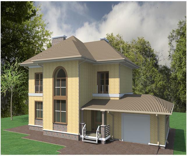 Проект изящного дома