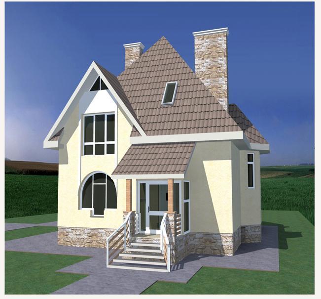 Проект компактного дома