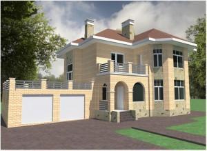 Проект роскошного дома 1