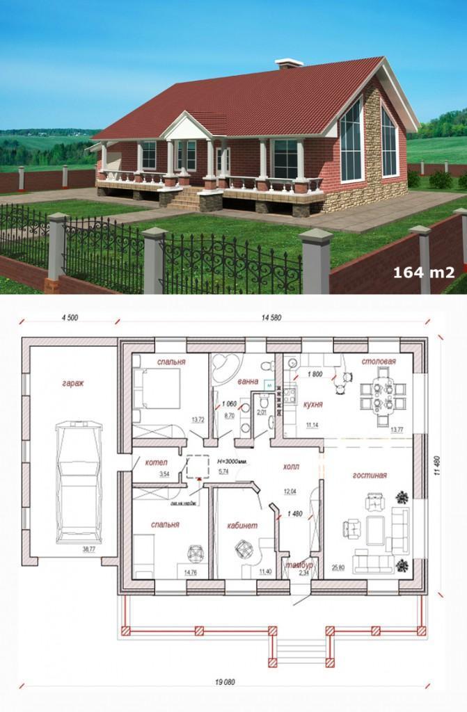 проект усадебного дома