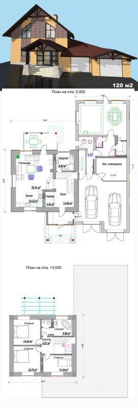 проект дома в немецком стиле