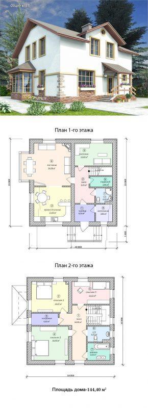 проект дома для семьи