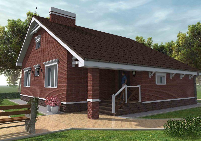 проект дома небольшой
