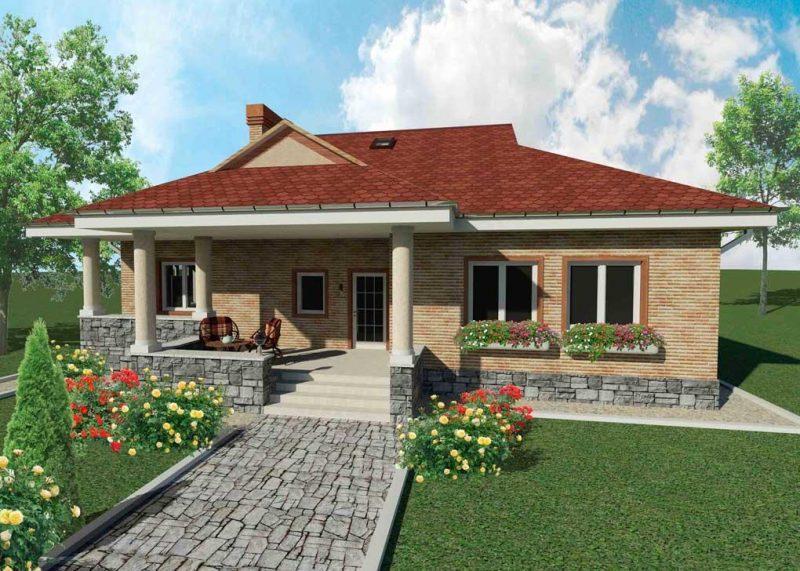 Проекты одноэтажных домов  Архитектурное бюро Авторские