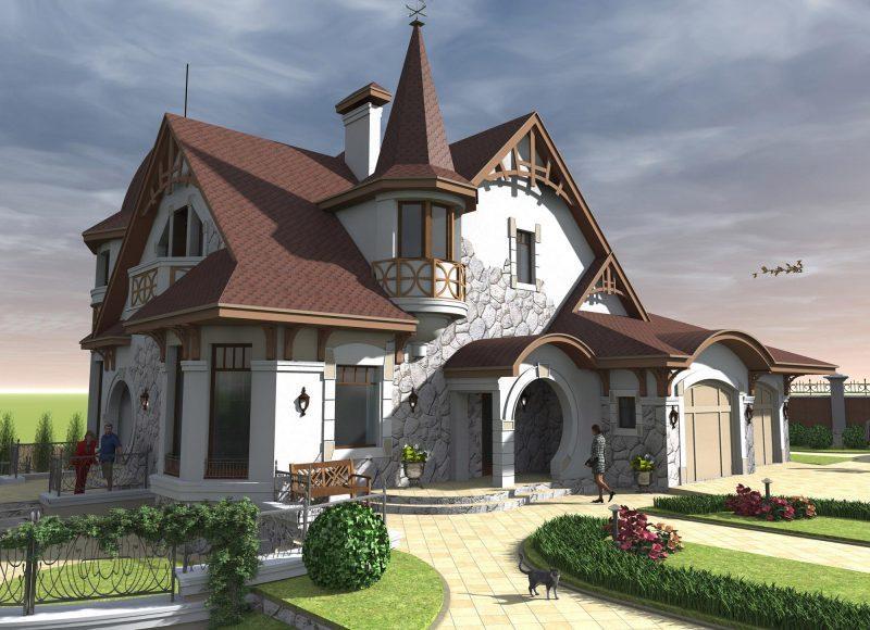 Готовые проекты красивых домов фото в элисте