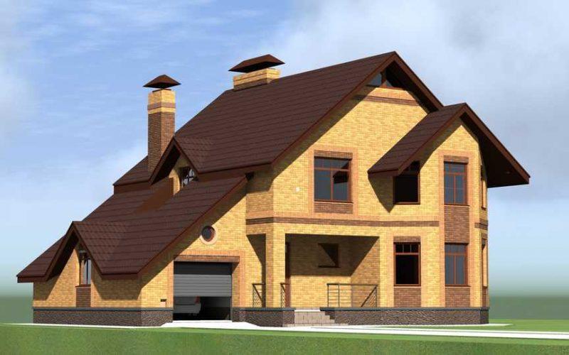 Авторский проект дома - 220 кв.м.