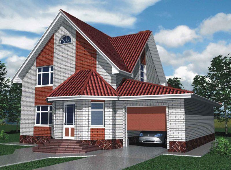 Проект дома 180 кв.м.