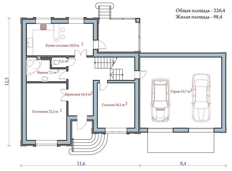 27 план первого этажа