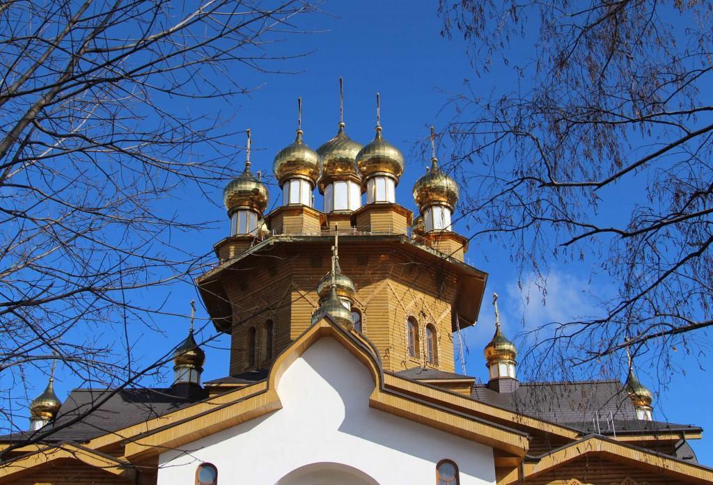 Деревянный храм Белгород