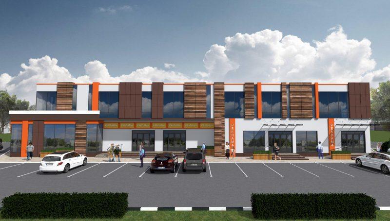 Проект Офисного Двухэтажного Здания