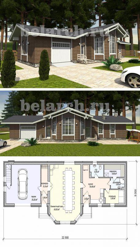 проект дома для гостей