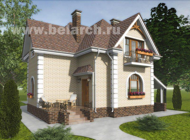 проект дом с подвалом 2