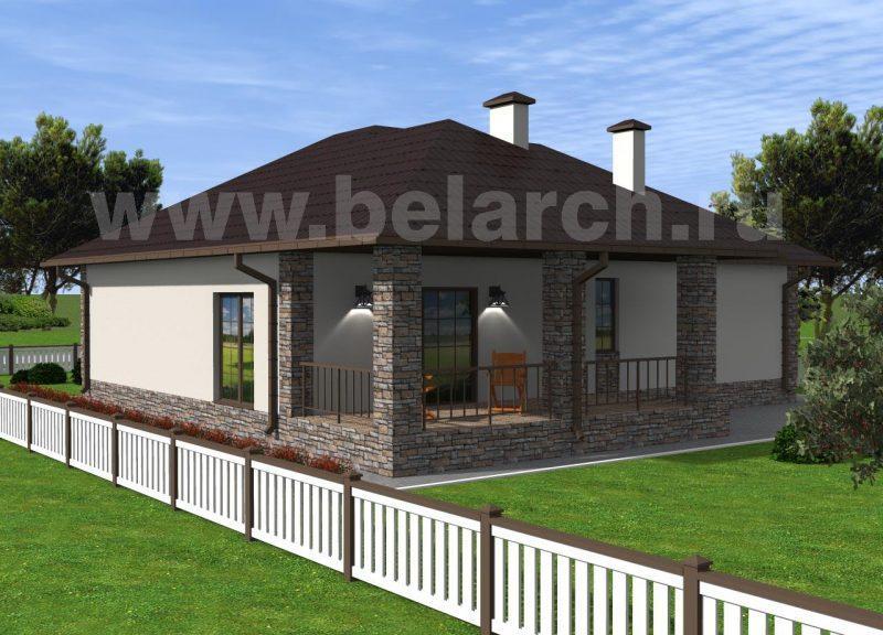 проект дома 100 кв 3