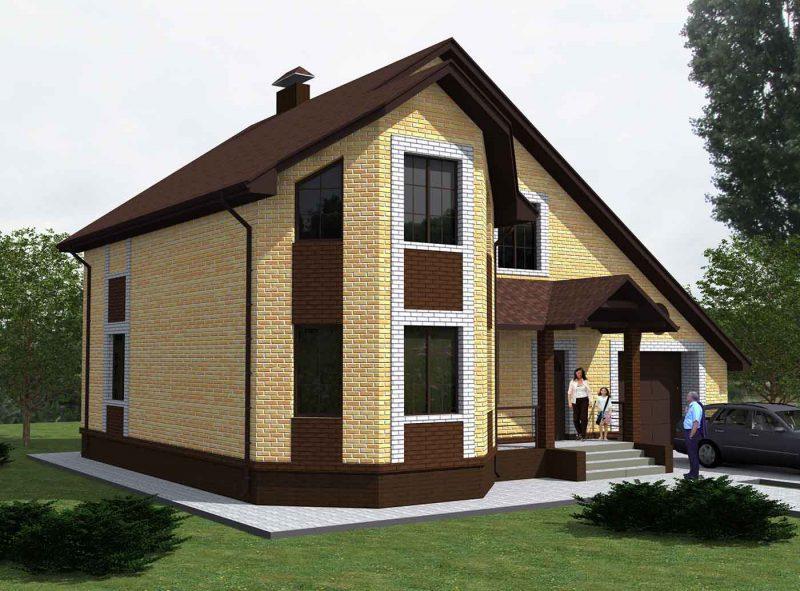 Каталог проектов домов из бруса - Цены и стоимость