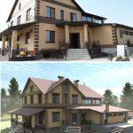 Проект дома и его реализация